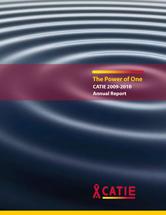 CATIE Annual Report 2009-2010