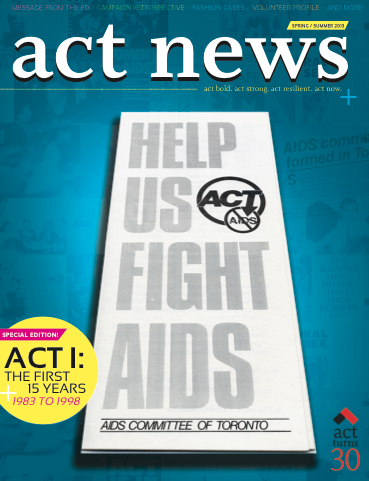 ACT News: The First 15 Years, 1983 to 1998 (Spring/Summer 2013)