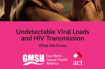 Undetectable Viral Loads and HIV Transmission: What We Know/Information for gay and bi men