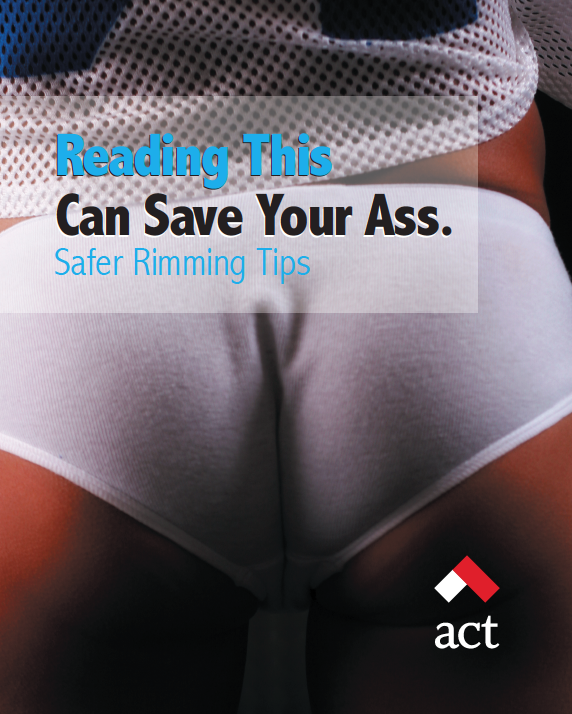 Reading This Can Save Your Ass: Safer Rimming Tips