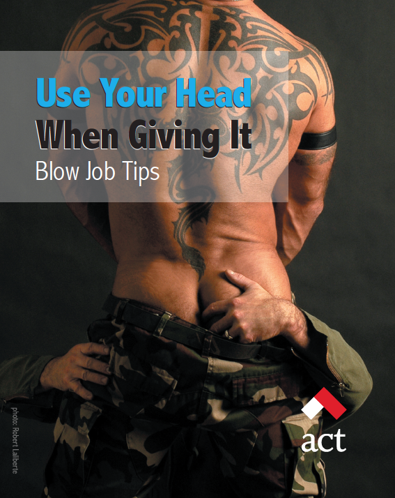 Use Your Head When Giving It: Blow Job Tips