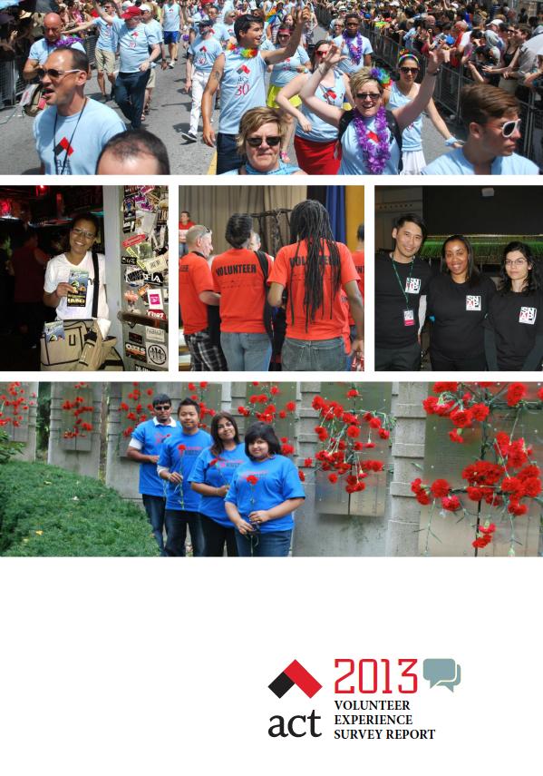 2013 ACT Volunteer Experience Survey Report