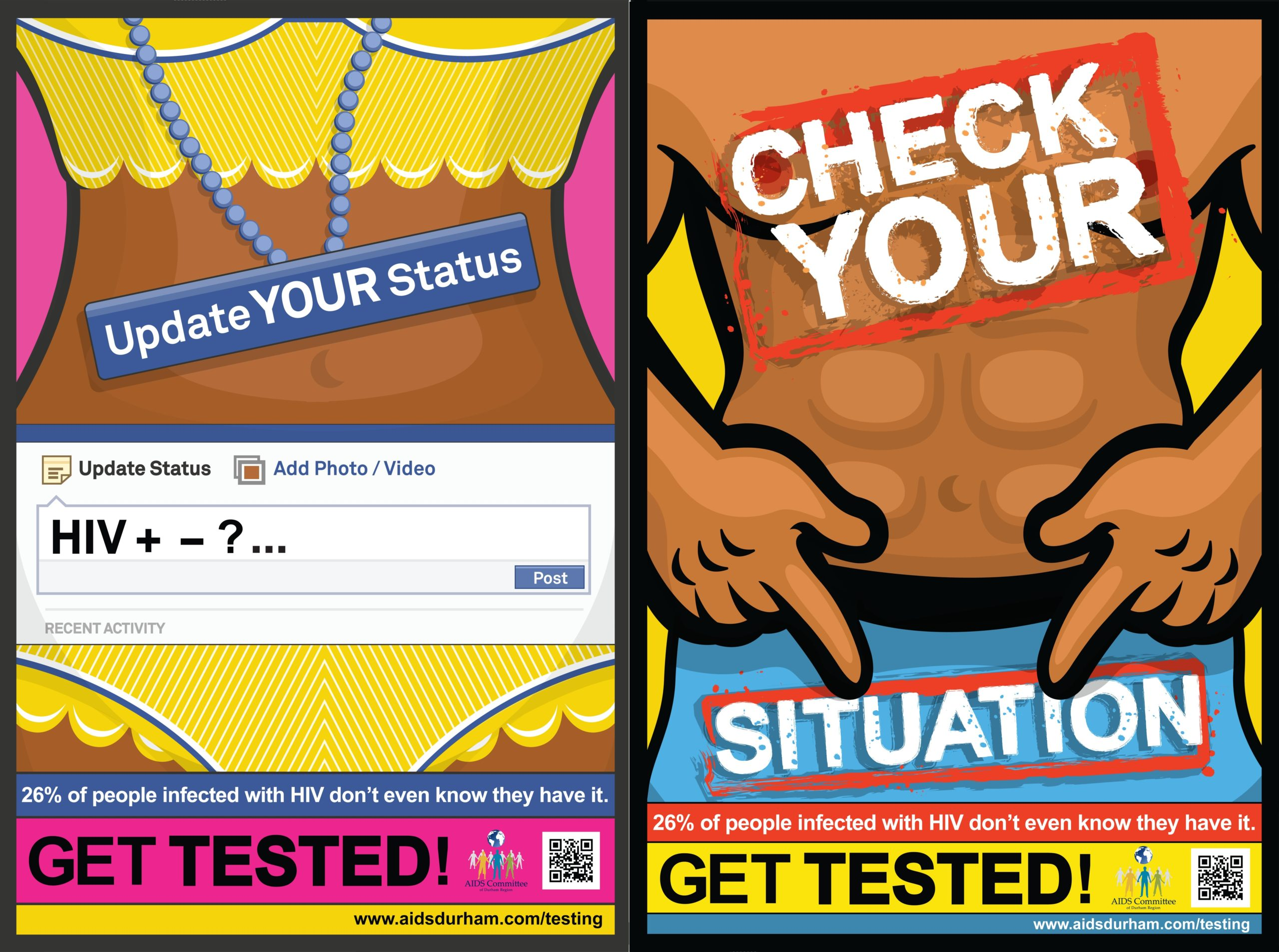 Get Tested – Youth campaign