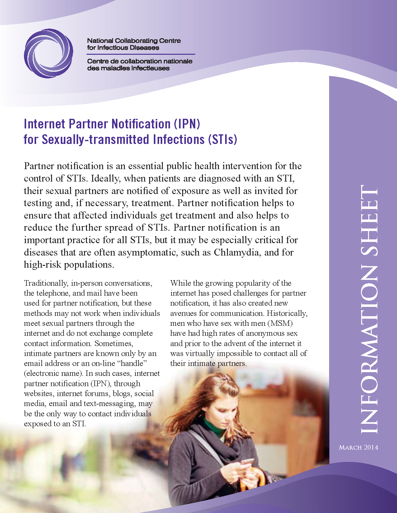 Internet Partner Notification for Sexually-transmitted Infections