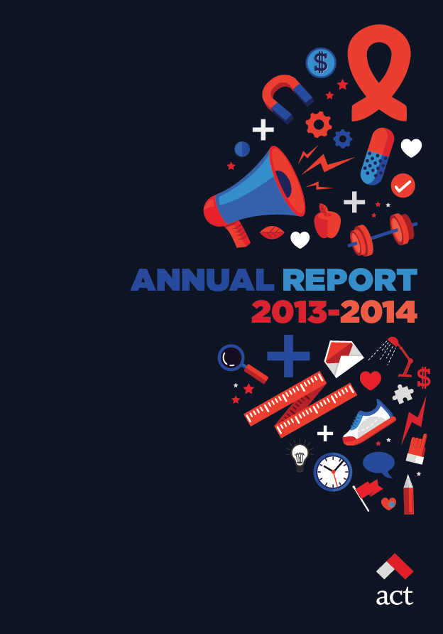 ACT Annual Report, 2013-2014