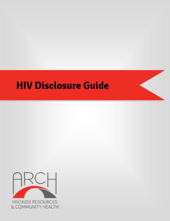 HIV Disclosure Guide