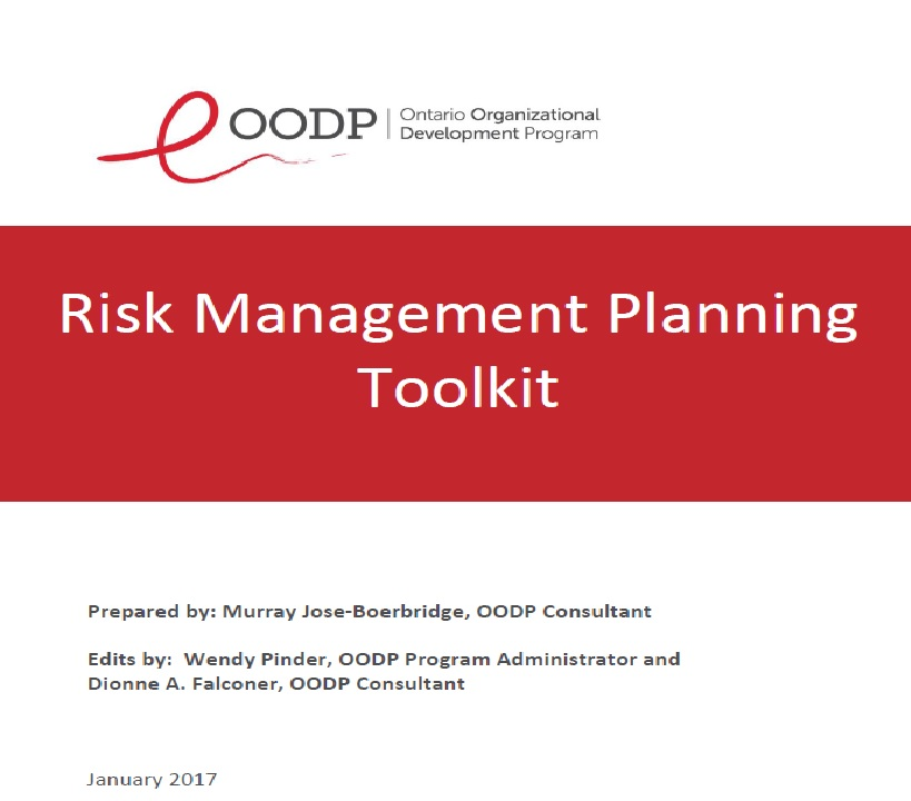 OODP Risk Management Planning Toolkit