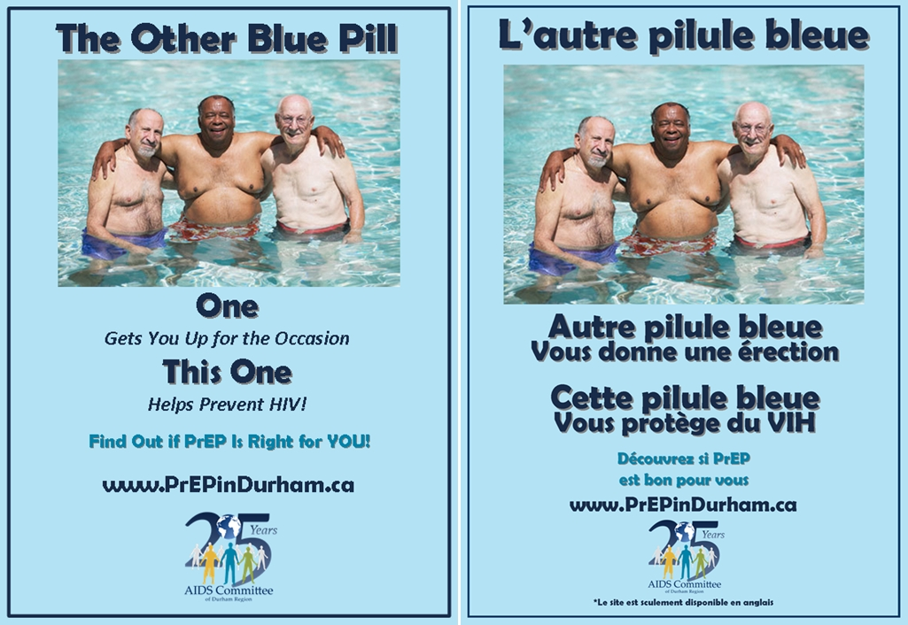 PrEP in Durham – 'The Other Blue Pill'