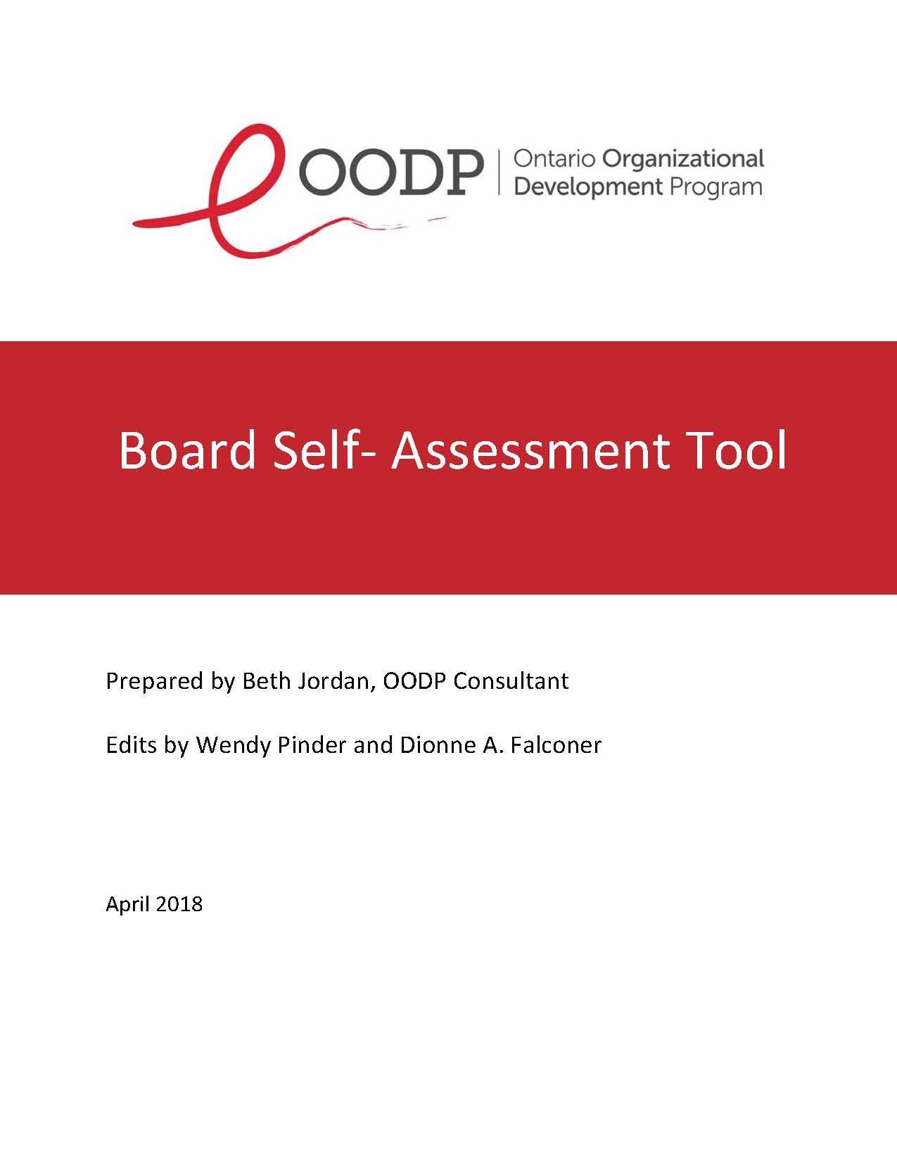 OODP Board Self-Assessment Tool