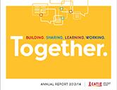 CATIE annual report 2013-14