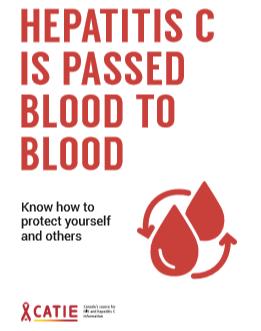 Hepatitis C is passed blood to blood