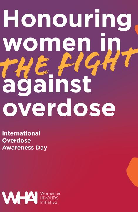 WHAI Overdose Awareness Day Poster
